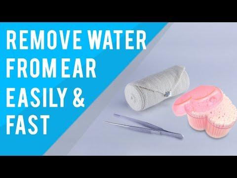 Remove water from ear | Remove water from ear drum | Remove water from ear after swimming