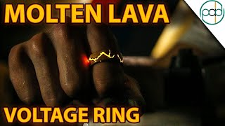 Making The Obsidian Lava VOLTAGE RING