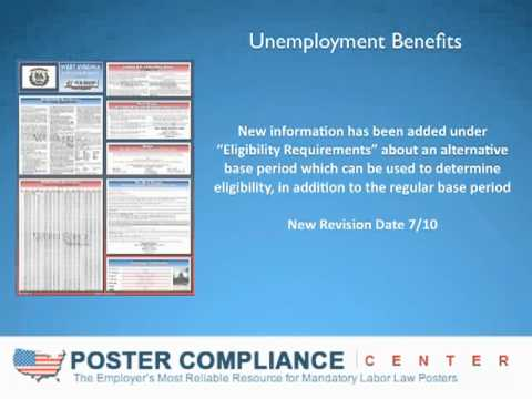 Labor Law Posters: West Virginia Labor Law Poster-Unemployment Benefits-WV