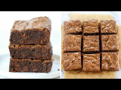 Best EASY Homemade Brownies | Chewy & Fudgy Recipe!