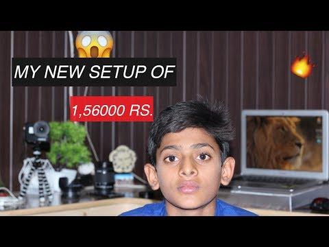 My New Setup    Spend 1,56000 Rs. [ gopro   Lens   Tripod   Dslr ]