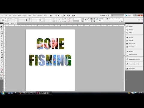 InDesign Tutorial: Placing photos inside multiple lines of text