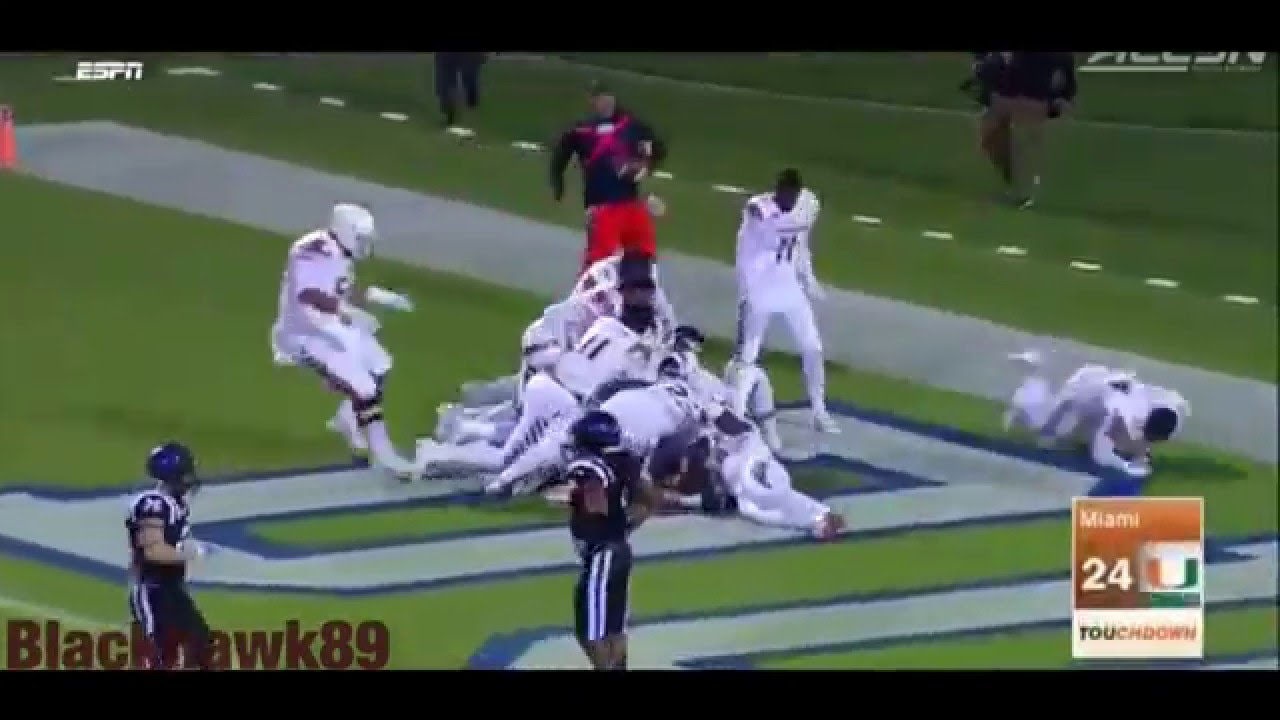 College Football 2015 Best Moments