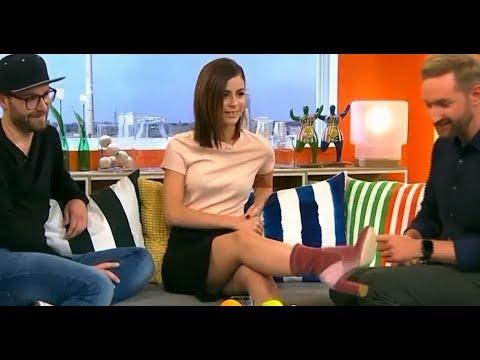 Xxx Mp4 Germany TV Show Oops Lena Meyer Landrut Upskirt Black Mini 3gp Sex