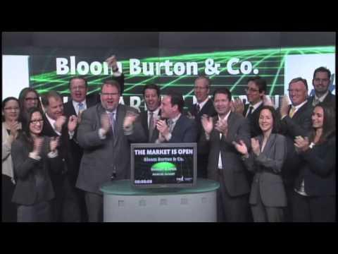 Bloom Burton & Co. opens Toronto Stock Exchange, May 23, 2013.