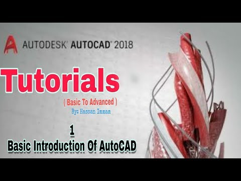 Autocad Tutorial in Hindi Full For Beginners Civil, Mechanical 3d 2017/2018 - Intro Video