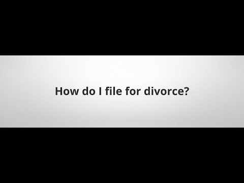 How do I file for Divorce in Ohio?