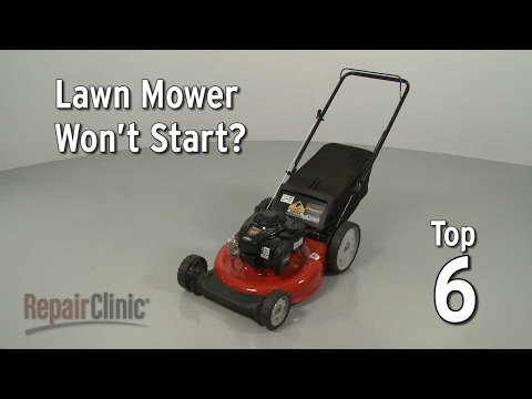 Top Reasons Lawn Mower Not Starting — Lawn Mower Troubleshooting