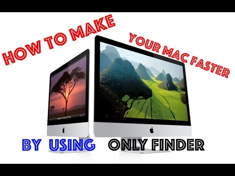 How To Make Your Mac Faster With Finder