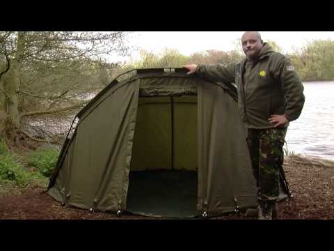 JRC Contact One Man Bivvy - Carp Fishing, Angling, Overnight, Shelter, Bivvy, Product Demo