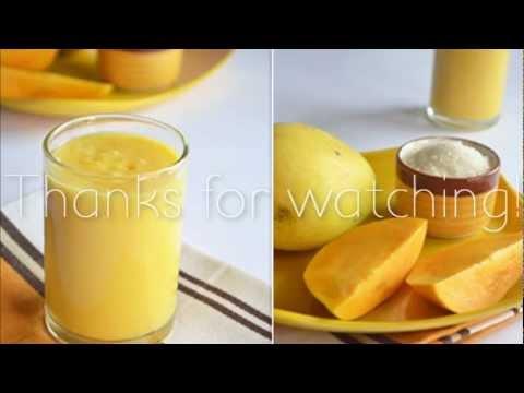 Mango Milkshake Tutorial