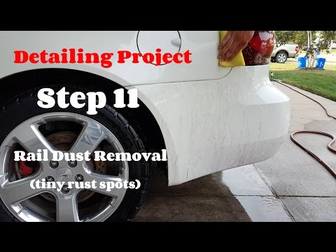 How To Detail a Car - Removing Rail Dust - Detailing Project Step 11