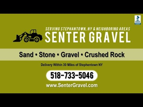 Senter Sand & Gravel | Pittsfield MA Gravel and Sand Suppliers