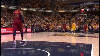 LeBron James quits on Cavs and his teammates in Game 3 vs Pacers