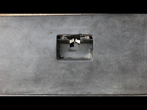 TUTORIAL: Cum repari / schimbi usa - clapeta torpedou la VW Golf 4, Bora in 6 pasi