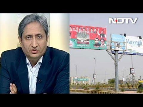 Advertising Agencies Blatantly Put up Illegal Hoardings Across Delhi