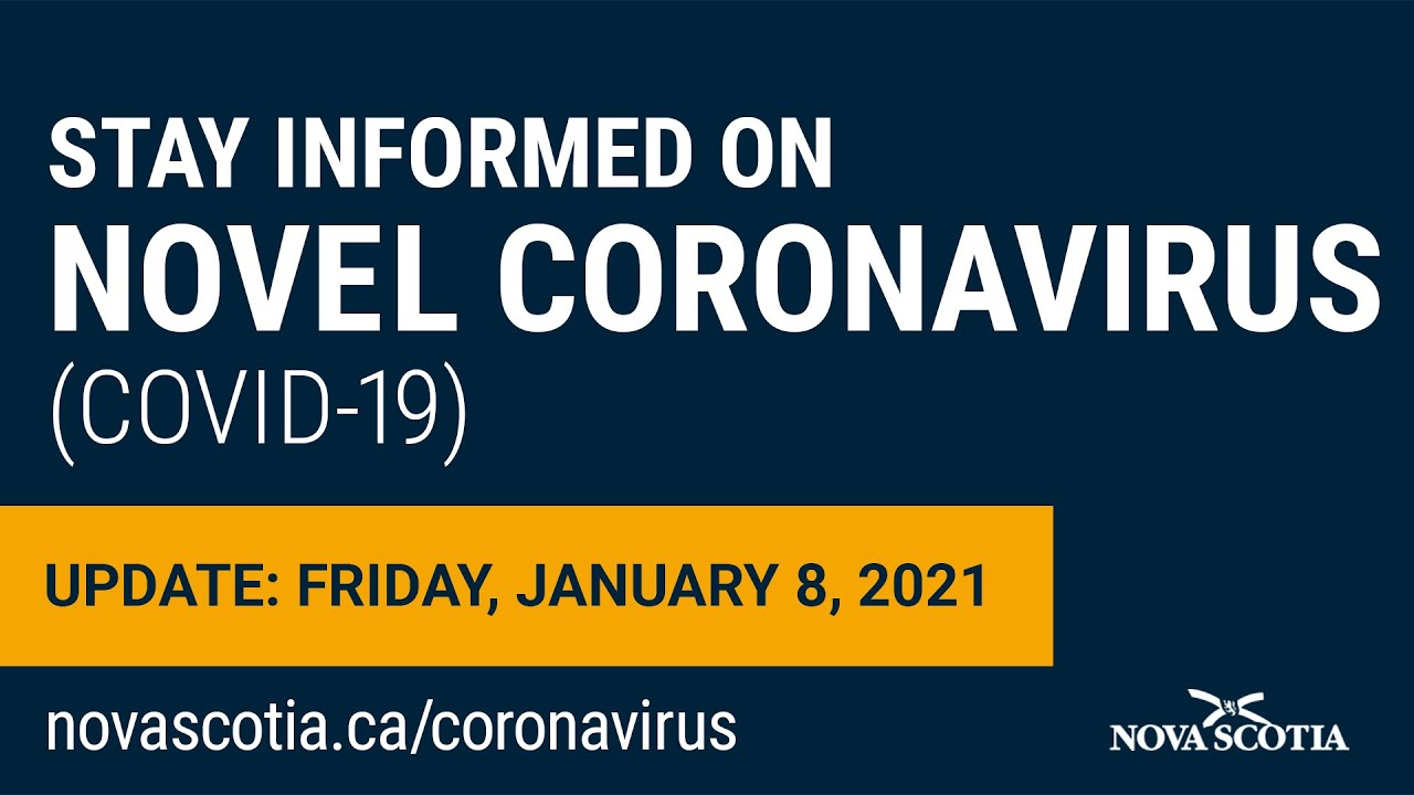 Update COVID-19 for Nova Scotians: Friday, January 8