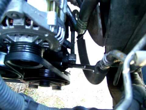 Nissan Sentra 2001 Main Belt Tensioner.MOV
