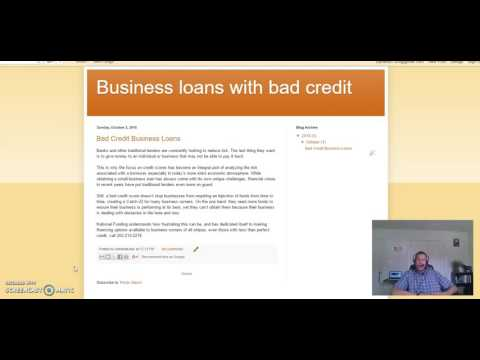 business loans with bad credit startup business funding