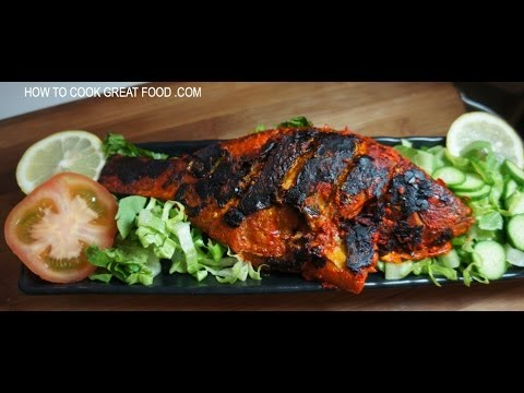 Fish Tikka Recipe Whole Tilapia Indian