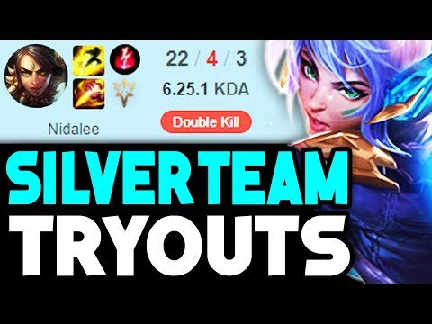 I TRIED OUT FOR A SILVER TEAM AND IT WENT HORRIBLY WRONG... (League of Legends)