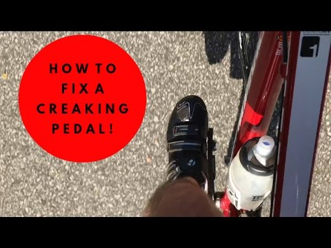 How To - Fix A Creaking Pedal!