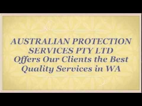 AUSTRALIAN PROTECTION SERVICES PTY LTD