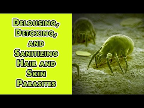 Delousing, Detoxing, and Sanitizing Hair and Skin Parasites I Dr. Robert Cassar