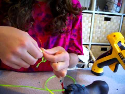 How to make a halter for a schleich horse
