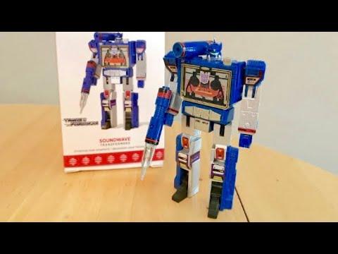 2017 Hallmark Transformers Soundwave UNBOXING