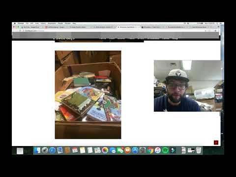 Buying Pallets/Gaylords of Used Books Online Part 1