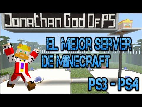 El Mejor Server de Minecraft PS3/PS4 II Hunger Games , Sky Wars y más minijuegos II Descarga