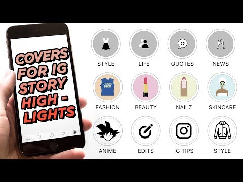 How To Make CUSTOM COVERS For Instagram Story Highlights | IG Stories Tips | DevanOnTech