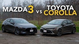 2019 Mazda3 vs Toyota Corolla Hatchback Comparison