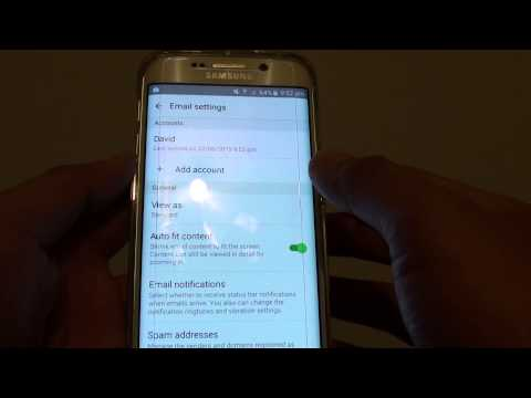 Samsung Galaxy S6 Edge: How to Change Email Account Name