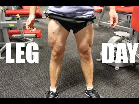 17 and Shredded - Leg Workout