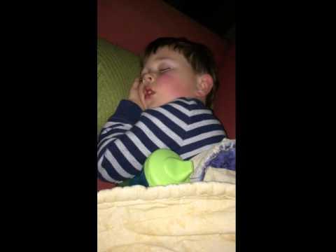 Caleb snoring
