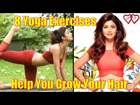 8 Yoga Exercises That Will Help You Grow Your Hair Faster