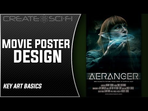 How To Make Movie Posters And Video Thumbnails Design & Photoshop Key Art Basics
