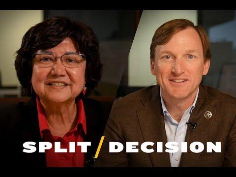 The Democrats vying to challenge Gov. Greg Abbott talk about debating