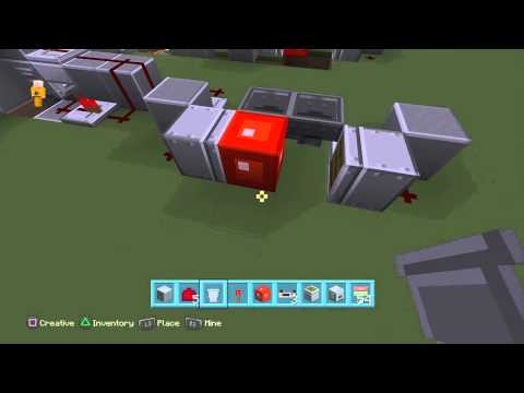 Minecraft How To Build  Nazi Zombies Wall Weapons