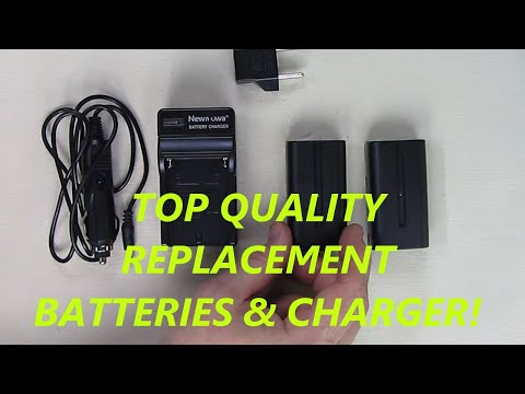 REVIEW of Newmowa Sony NP-F550 Battery (2-Pack) and Charger kit