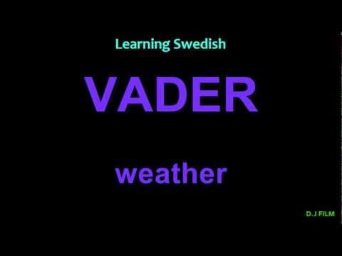 Learning Swedish (Lesson 11)