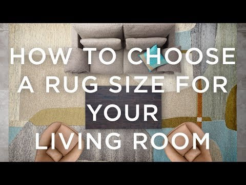 How To Choose A Rug Size For Your Living Room
