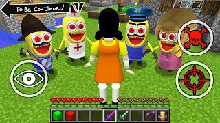 HOW TO PLAY AS DOLL in SQUID GAME - MINECRAFT WORKER Minecraft Tom and jerry spongebob Minions