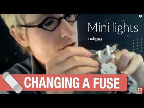 Mini Lights - Changing a Fuse
