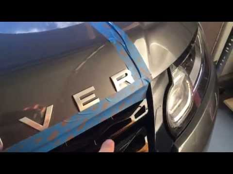 Changing Lettering Badges On Your Car 2014 RRS