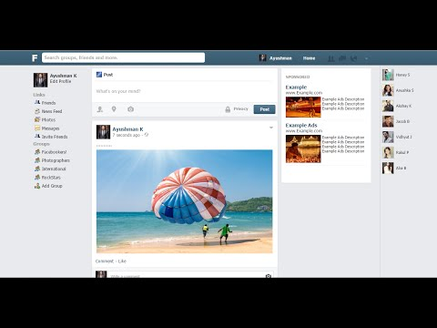 How To Make A Website Like Facebook I Create A Social Network Website