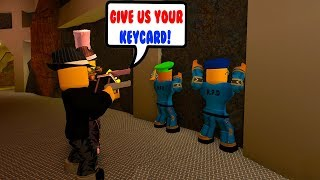 HOLDING THE POLICE HOSTAGE! (Roblox Jailbreak Roleplay)