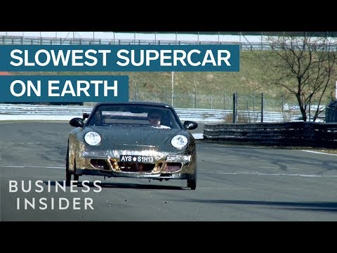 Slowest Sports Car In The World Requires You To Pedal